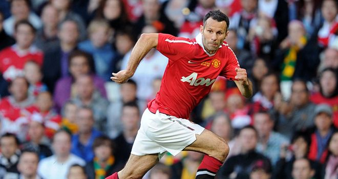 Giggs: United veteran set up Rooney for opening goal in Neville testimonial