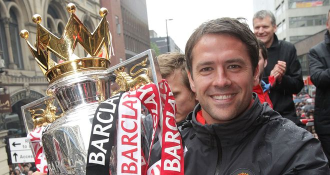 Owen: Delighted to win new contract at Manchester United