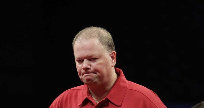 Van Barneveld: comfortable victory over Steve Brown on Sunday night