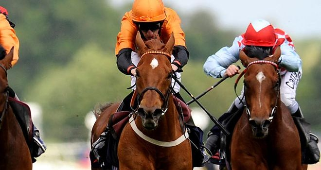 Premio Loco (orange): Lockinge third