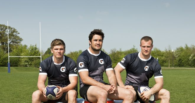 Barritt (centre): Focused on winning the title