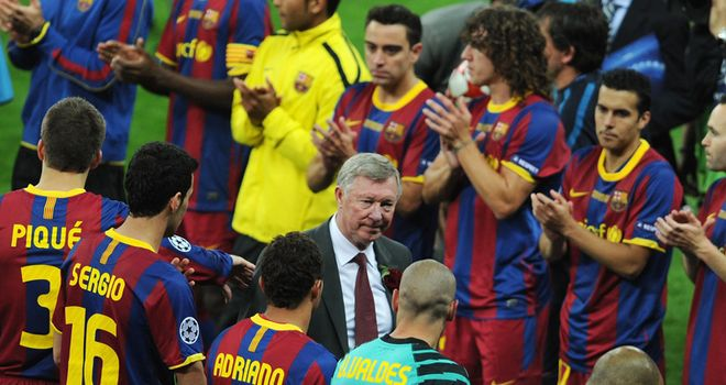 Sir Alex Ferguson: Not too old to learn a trick from Barcelona but will it bring European glory?