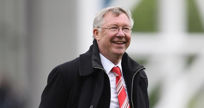 Ferguson: Pinning his faith in United talent ahead of Champions League final