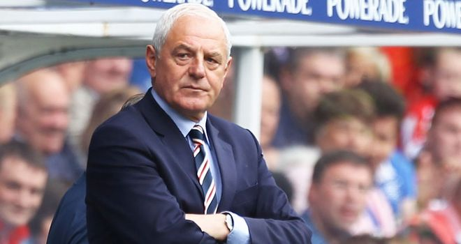 Walter Smith: Is not interested in taking the reins at Molineux until the end of the season