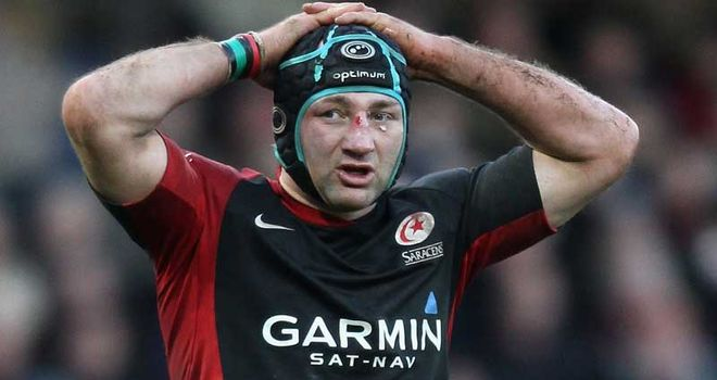 Borthwick: Doesn't think about England when playing for Sarries