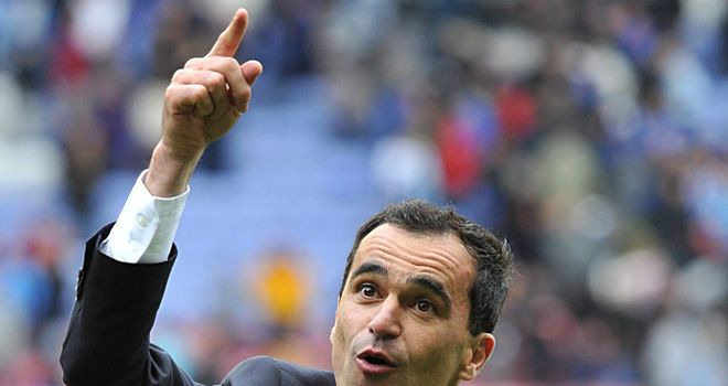 Martinez: Believes Mancini has managed City squad well