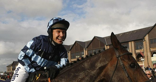 Richard Johnson: All smiles after Captain Chris' brave win