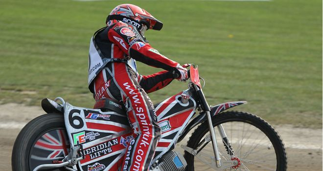 Chris Harris: May quit the national side for a year if he loses his GP status. Pic credit: Fotospeedway.pl