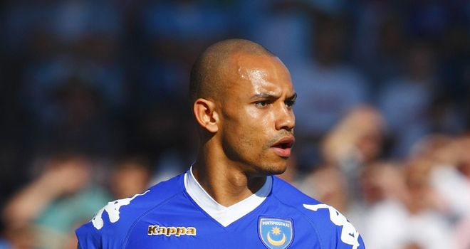 Webber: Hoping to secure a new contract at Portsmouth following his return to fitness
