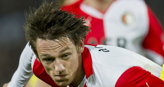 De Vrij: Has penned new deal at Feyenoord