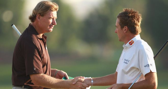 Els: planning to have 'a word' with Poulter over his criticism of the revamped Wentworth