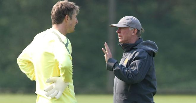Van der Sar: Spoke to Ferguson about his doubts over retirement but is standing by his decision