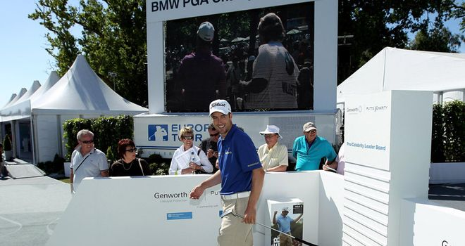 Fisher: looking to claim BMW PGA crown on his home track of Wentworth this week