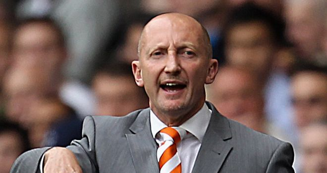 Holloway: Hopes to keep the Blackpool squad together as he looks to fight back next season