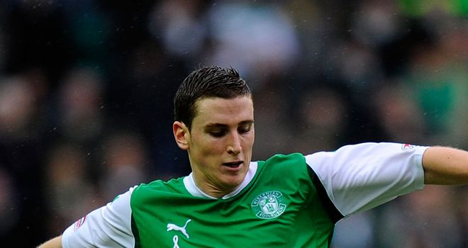 Hanlon: Has signed a contract extension to pledge his future to Hibs until 2016