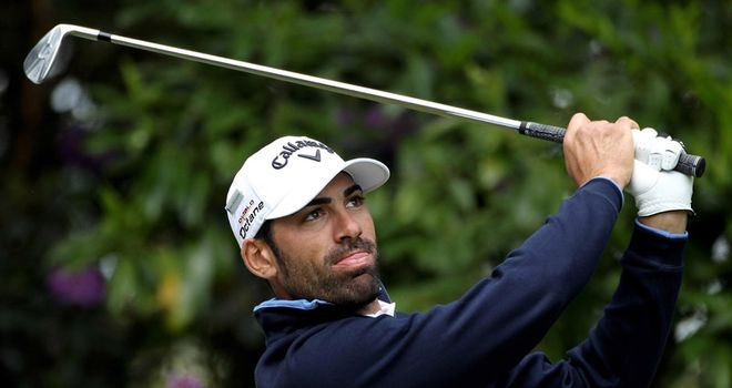 Quiros: share of the lead alongside Donald and Manassero