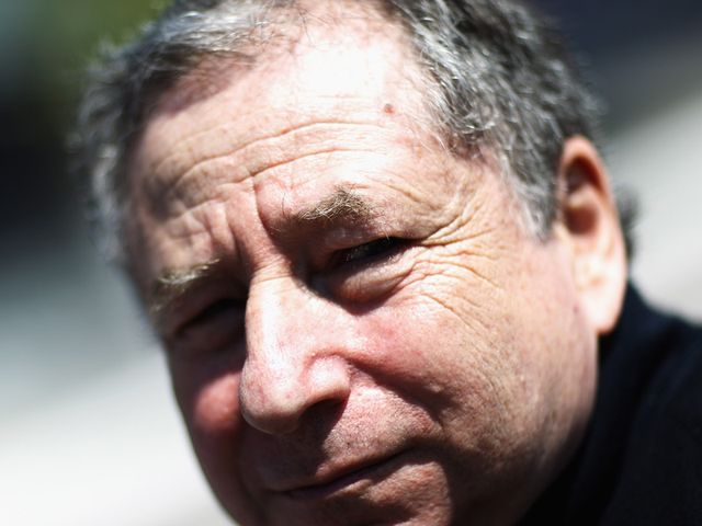 Jean Todt: Wants costs to be cut