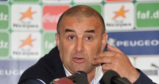 Benchikha: Leaving his role with Algeria after a short spell in charge