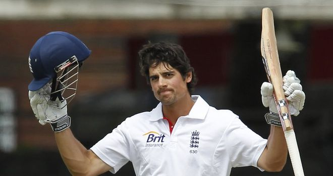 Cook: looking to equal England record for consecutive scores of fifty or more