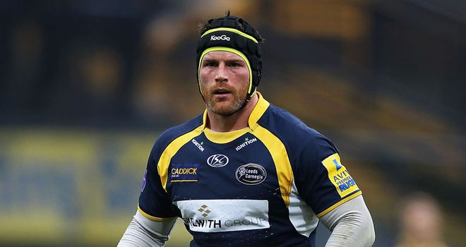 Titterrell: Hopes to take Leeds back into Aviva Premiership