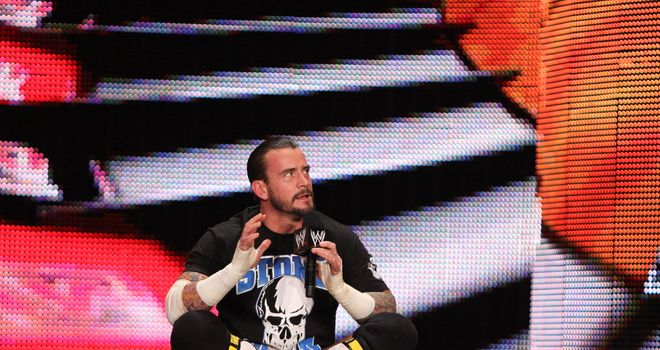 Punk: the WWE Champion will lead his five-man Survivor Series team