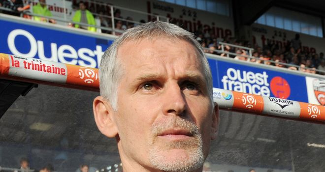 Gillot: Has fired a warning shot to his Bordeaux players that they either shape up or get out