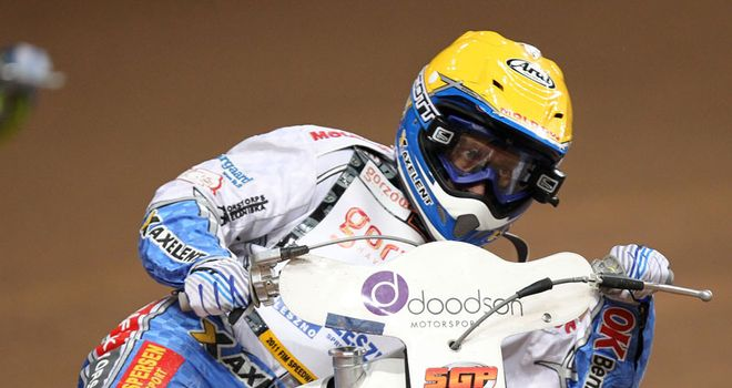 Great Dane: Pedersen has taken the place of Jensen for the World Cup race-off