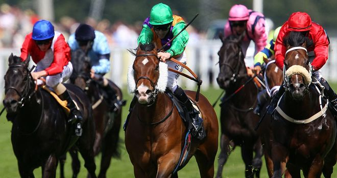 Prohibit (centre): Misses Haydock outing
