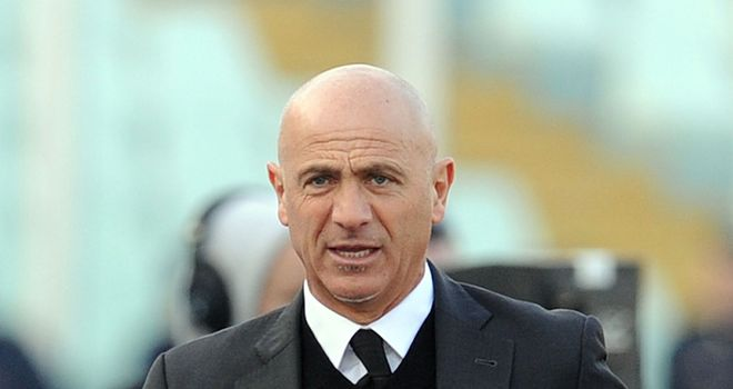 Giuseppe Sannino: Upset after watching his Palermo side dumped out of the Italian Cup