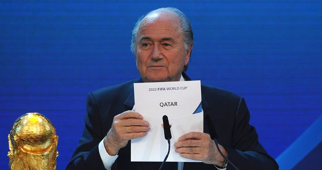 Qatar: Was revealed as the 2022 World Cup host