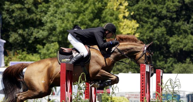 Steven Whitaker: Hickstead build-up win