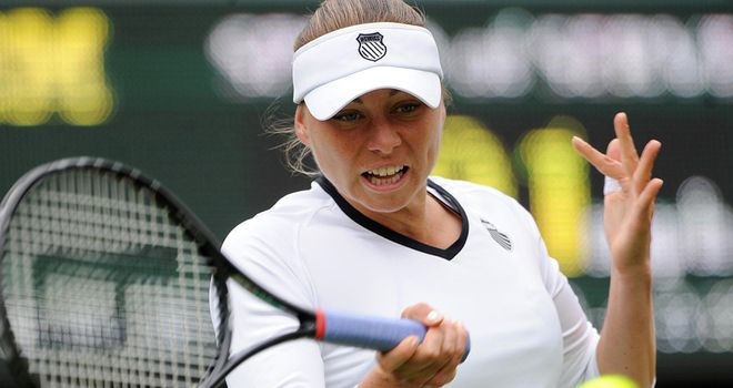 Zvonareva: Was made to work during her victory