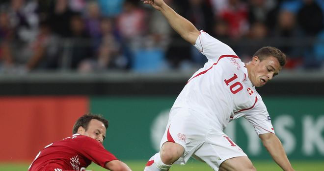 A moment of magic by Xherdan Shaqiri wins game for Swiss