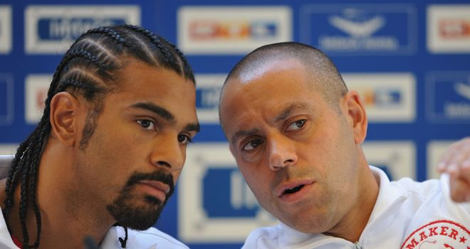 Talks: but no return - yet - for David Haye, says Adam Booth