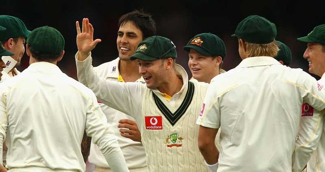 Clarke: now Australia's skipper in Test cricket, following Ricky Ponting's resignation