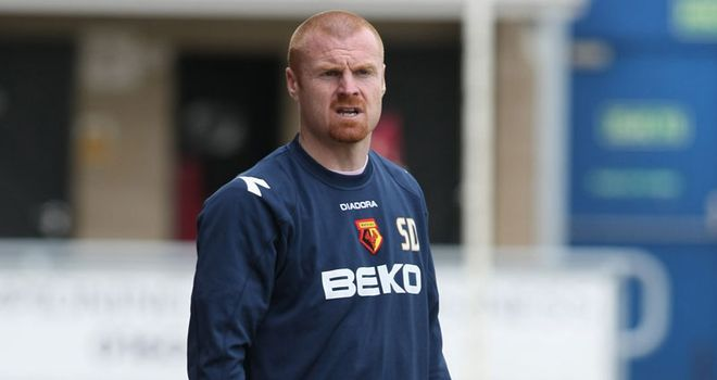 Dyche: On the look out for a striker to finish off the chances Watford are creating