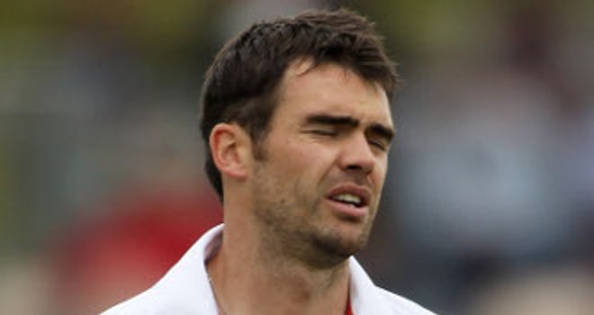 James Anderson: fitness doubt for Thursday