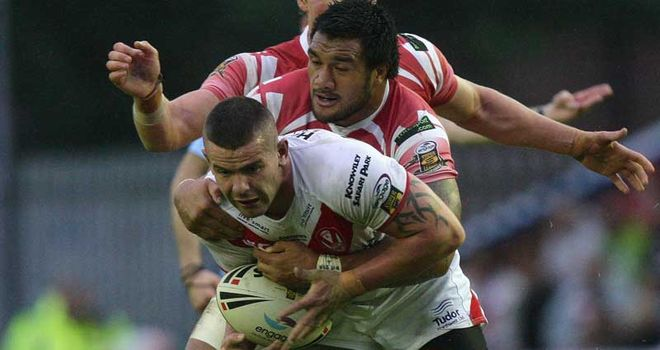 Wigan had too much in attack and defence for St Helens