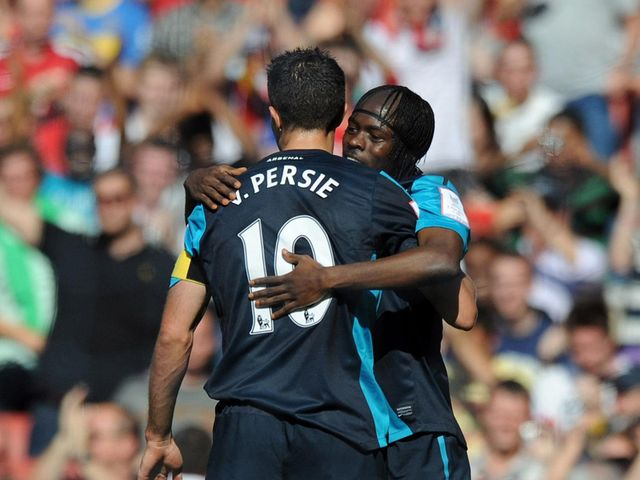 Gervinho: Doesn&#39;t want Van Persie to leave