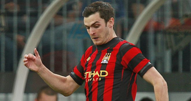 Adam Johnson: Starting his bid now to be included in the 2014 World Cup squad
