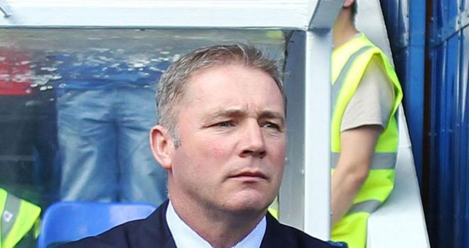McCoist: The Rangers boss remains interested in Goian and Cuellar