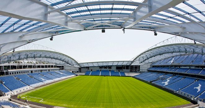 Amex Stadium: New home for Christian Walton