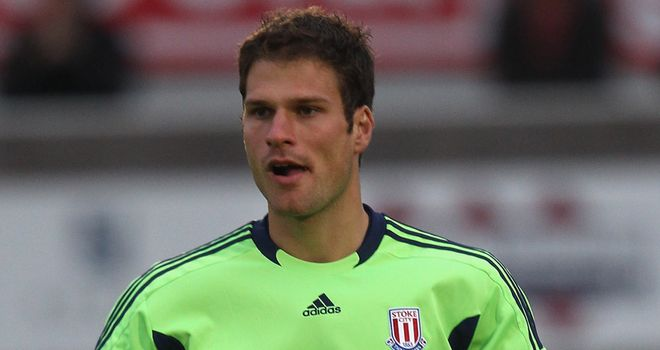 Asmir Begovic: Ready to hold down his no.1 spot at Potters