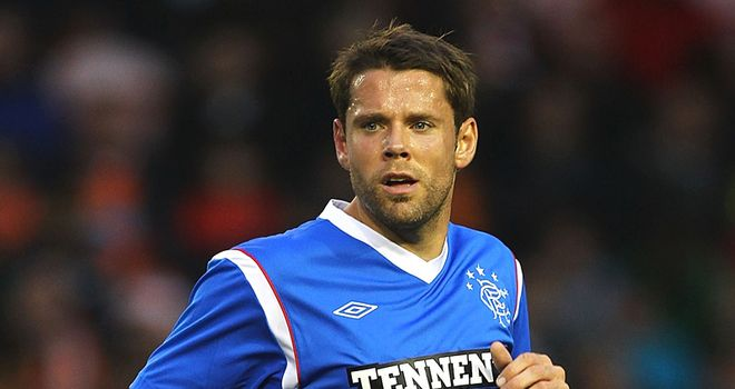Beattie: The striker failed to impress at Ibrox