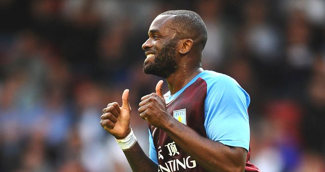 Bent: Villa striker carries on where he left off last season