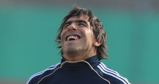 Tevez: Talk of a swap deal involving Inter striker Samuel Eto'o is played down by Man City boss Roberto Mancini