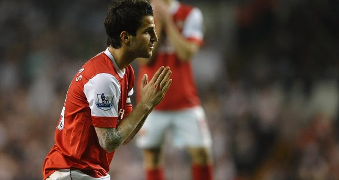 Fabregas: Arsenal skipper is a target for Barcelona and AC Milan