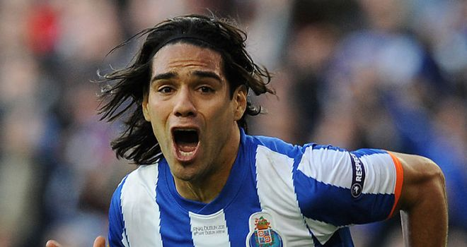 Falcao: Would prefer a move to England over a switch to Spain's top flight