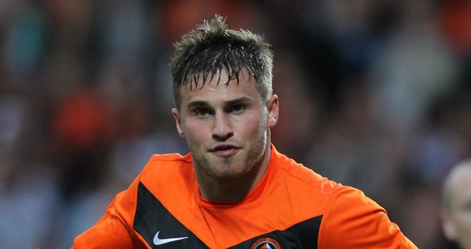 Goodwillie: Was the subject of a rival bid from Rangers
