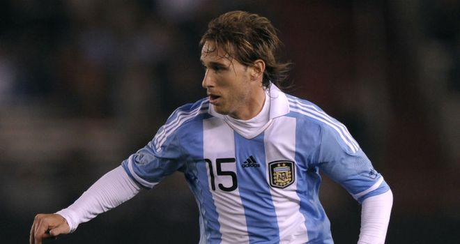 Lucas Biglia: Attracting interest from Arsenal and Manchester United, according to player's agent